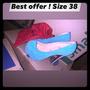 Size 38 red bottoms